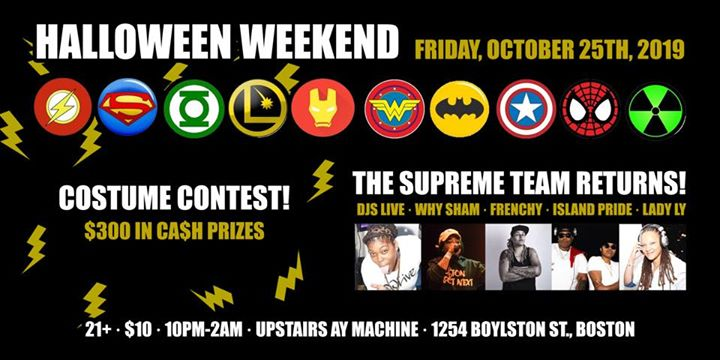 BostonSupreme Team Halloween2019年10月25日,22:00(男同性恋 下班后的活动)