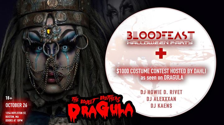 Bloodfeast Halloween party in Boston le Sat, October 26, 2019 from 10:00 pm to 02:00 am (Clubbing Gay)