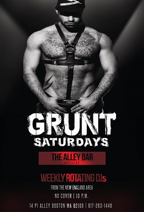 Grunt Saturdays à Boston le sam. 17 août 2019 de 22h00 à 02h00 (Clubbing Gay)