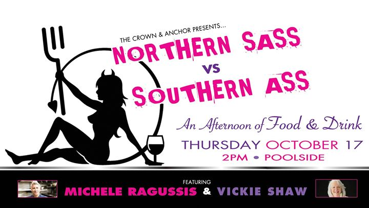 Northern Sass VS Southern Ass em Provincetown le qui, 17 outubro 2019 14:00-15:30 (After-Work Gay)