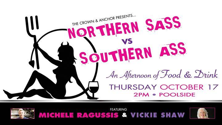 Northern Sass VS Southern Ass à Provincetown le jeu. 17 octobre 2019 de 14h00 à 15h30 (After-Work Gay)