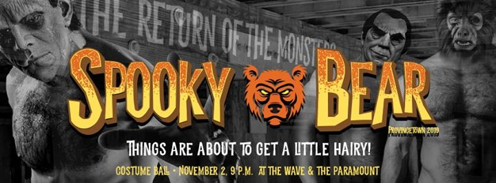 Spooky Bear Weekend! in Hartford from October 31 til November  3, 2019 (Festival Gay)