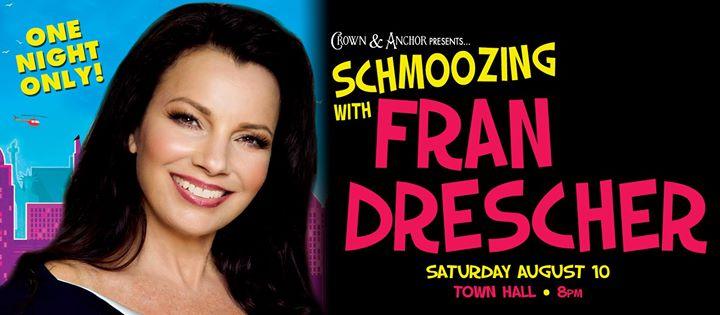 Schmoozing with Fran Drescher: One Night only! à Provincetown le sam. 10 août 2019 de 20h00 à 21h30 (After-Work Gay)
