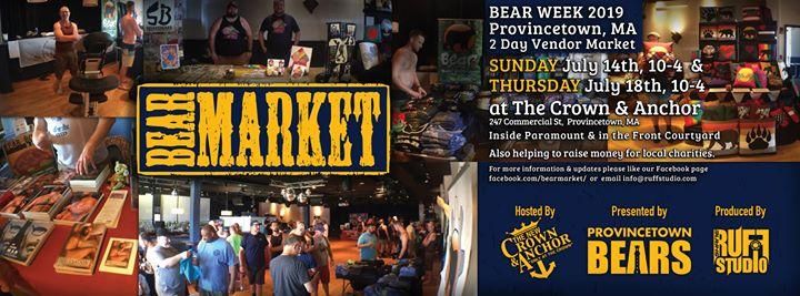 Bear Market em Provincetown le qui, 18 julho 2019 10:00-16:00 (Festival Gay, Bear)