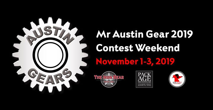 Mr Austin Gear 2019 Contest Weekend en Austin del  1 al  3 de noviembre de 2019 (Clubbing Gay, Oso)
