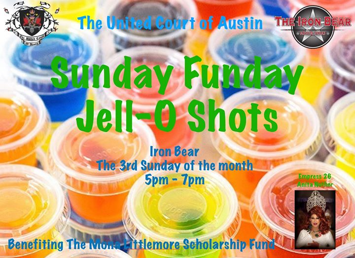 Jello-Shots for Charity en Austin le dom 15 de septiembre de 2019 18:00-20:00 (After-Work Gay, Oso)