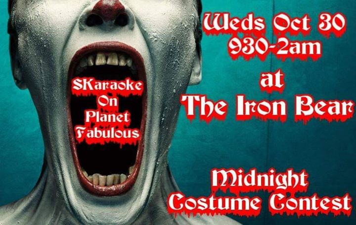 Planet Fabulous Howloween SKaraoke! in Austin le Wed, October 30, 2019 from 09:30 pm to 02:00 am (Clubbing Gay, Bear)