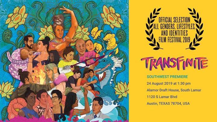 AustinSouth West Premiere: aGLIFF从2019年 8月25日到10月22日(男同性恋, 女同性恋, 变性, 双性恋 电影)