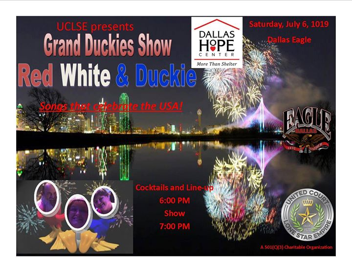 UCLSE presents Red White & Duckie Song that Celebrate the USA in Dallas le Sat, July  6, 2019 from 06:00 pm to 10:00 pm (After-Work Gay)