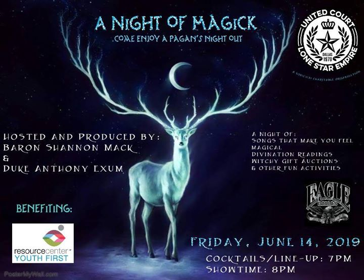 UCLSE Presents A Night of Magick in Dallas le Fri, June 14, 2019 from 07:00 pm to 10:00 pm (After-Work Gay)