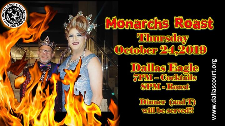 UCLSE presents Monarch's Roast en Dallas le jue 24 de octubre de 2019 19:00-22:00 (After-Work Gay)