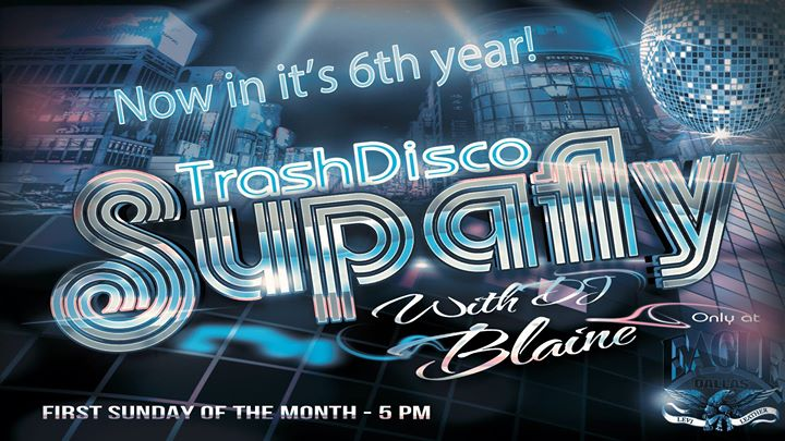 Supafly Trash Disco with DJ Blaine à Dallas le dim.  7 juillet 2019 de 17h00 à 21h00 (Clubbing Gay)
