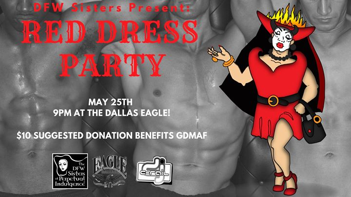 DFW Sisters Red Dress Party in Dallas le Sa 25. Mai, 2019 21.00 bis 02.00 (Clubbing Gay)