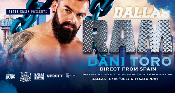 RAM Party - Dallas à Dallas le sam.  6 juillet 2019 de 22h00 à 02h00 (After-Work Gay)