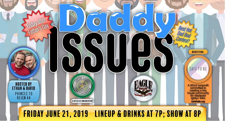 UCLSE presents Daddy Issues à Dallas le ven. 21 juin 2019 de 19h00 à 22h00 (After-Work Gay)
