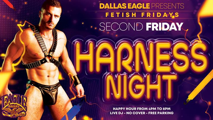 Fetish Fridays - Harness Night en Dallas le vie 12 de julio de 2019 16:00-02:00 (After-Work Gay)