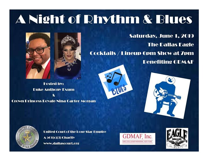UCLSE presents A Night of Rhythm & Blues in Dallas le Sat, June  1, 2019 from 06:00 pm to 10:00 pm (After-Work Gay)
