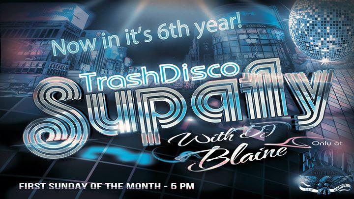 Supafly Trash Disco with DJ Blaine à Dallas le dim.  3 novembre 2019 de 17h00 à 21h00 (Clubbing Gay)