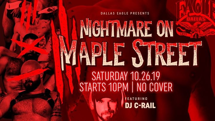 Nightmare on Maple Street Halloween Party en Dallas le sáb 26 de octubre de 2019 22:00-02:00 (Clubbing Gay)