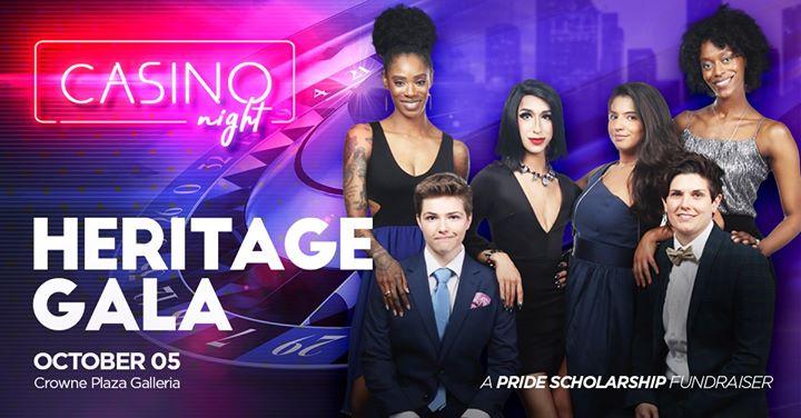 HoustonHeritage Gala Casino Night2019年 7月 5日,19:00(男同性恋, 女同性恋 下班后的活动)