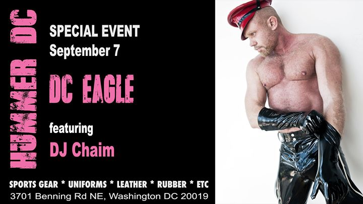 Hummer DC at the DC Eagle 9/7 à Washington D.C. le sam.  7 septembre 2019 de 22h00 à 04h00 (Clubbing Gay)