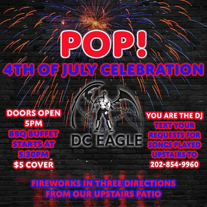 4th of July Celebration à Washington D.C. le jeu.  4 juillet 2019 de 17h00 à 02h00 (Clubbing Gay)