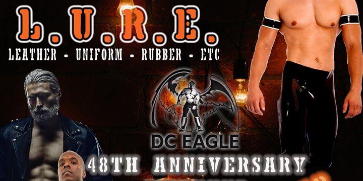L.U.R.E. - 48th Anniversary Weekend Blackout Night & Open Bar a Washington D.C. le gio 21 novembre 2019 20:00-02:00 (Clubbing Gay)