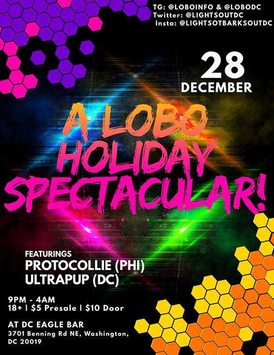 A LOBO Holiday Spectacular! a Washington D.C. le sab 28 dicembre 2019 21:00-03:00 (Clubbing Gay)
