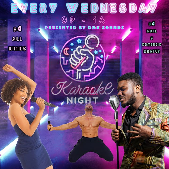 Karaoke at DC Eagle à Washington D.C. le mer.  7 août 2019 de 21h00 à 01h00 (Clubbing Gay)