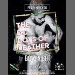 BOYS NIGHT at The DC EAGLE in Washington D.C. le Fri, March 30, 2018 from 09:00 pm to 02:00 am (Clubbing Gay)