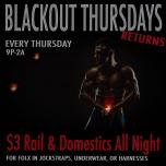 Blackout Thursdays - Every Thursday à Washington D.C. le jeu.  4 avril 2019 de 21h00 à 03h00 (Clubbing Gay)