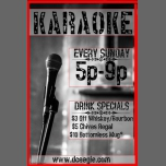 Karaoke Sunday in Washington D.C. le Sun, March  3, 2019 from 05:00 pm to 09:00 pm (After-Work Gay)