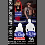 DC Eagle Anniversary Weekend Featuring Willam in Washington D.C. from 16 til November 18, 2018 (Clubbing Gay)