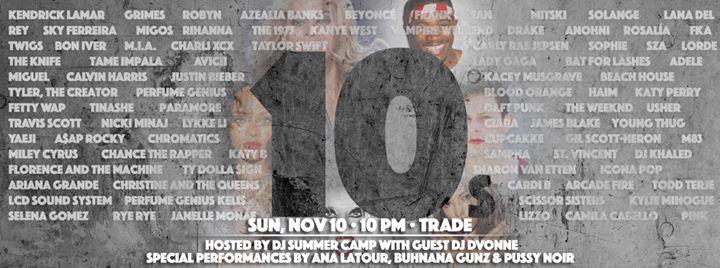 TENS: Hosted by Summer Camp en Washington D.C. le dom 10 de noviembre de 2019 22:00-01:30 (Clubbing Gay)