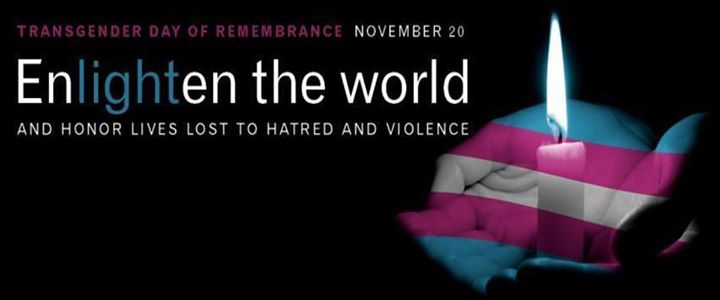 Transgender Day of Remembrance in Washington D.C. le Wed, November 20, 2019 from 06:00 pm to 09:00 pm (Meetings / Discussions Gay, Lesbian, Trans, Bi)