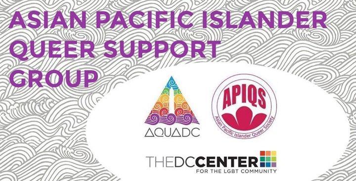 API Queer Support Group a Washington D.C. le gio  3 ottobre 2019 19:00-21:00 (Incontri / Dibatti Gay, Lesbica, Trans, Bi)