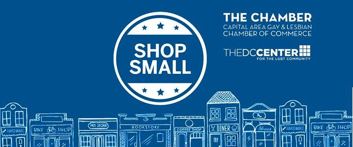 Small Business Saturday Pop up Shops at the DC Center in Washington D.C. le Sat, November 30, 2019 from 12:00 pm to 05:00 pm (Meetings / Discussions Gay, Lesbian, Trans, Bi)