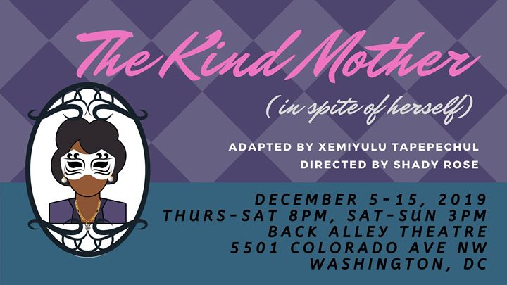 The Kind Mother (in spite of herself) em Washington D.C. le qui,  5 dezembro 2019 20:00-22:00 (After-Work Gay, Lesbica, Trans, Bi)