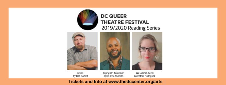 DC Queer Theatre Festival Staged Reading Series a Washington D.C. le sab 23 novembre 2019 19:00-22:00 (After-work Gay, Lesbica, Trans, Bi)