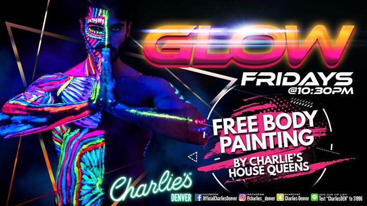 GLOW Fridays in Denver le Fr 19. Juli, 2019 22.30 bis 01.45 (Clubbing Gay)