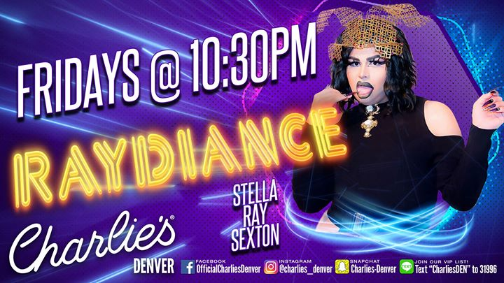 Ray-Diance à Denver le ven. 19 juillet 2019 de 17h00 à 20h00 (After-Work Gay)