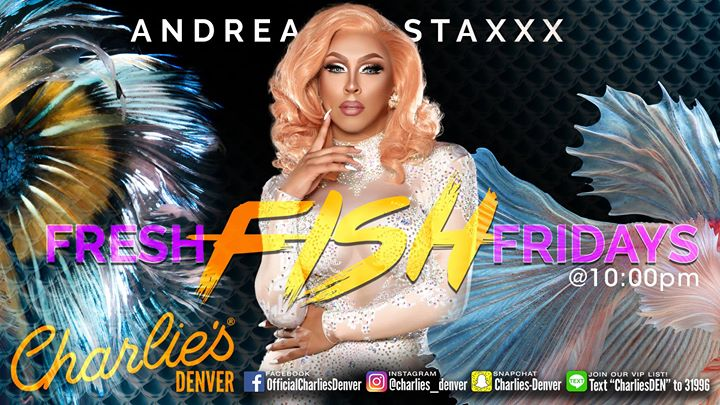 Fresh Fish Friday à Denver le ven. 26 juillet 2019 de 22h30 à 01h00 (Clubbing Gay)