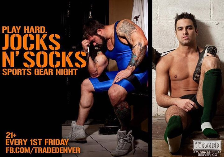Jocks N' Socks à Denver le ven.  6 septembre 2019 de 21h00 à 02h00 (After-Work Gay, Bear)