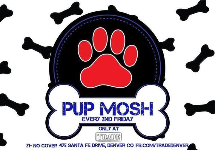 Pup Mosh à Denver le ven. 13 septembre 2019 de 21h00 à 02h00 (Clubbing Gay, Bear)