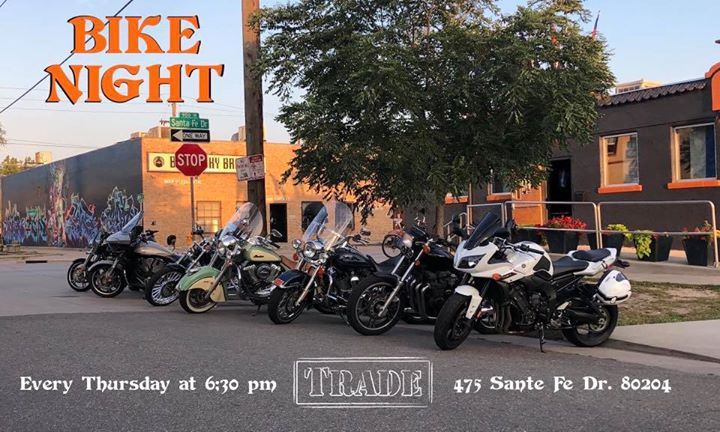 Bike Night in Denver le Thu, August  8, 2019 from 06:30 pm to 09:30 pm (After-Work Gay, Bear)