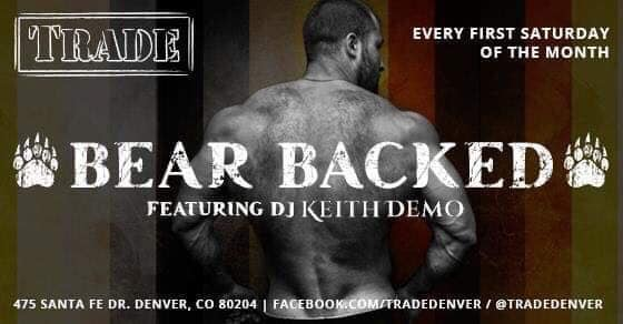 Bear Backed à Denver le sam.  7 septembre 2019 de 21h00 à 02h00 (Clubbing Gay, Bear)