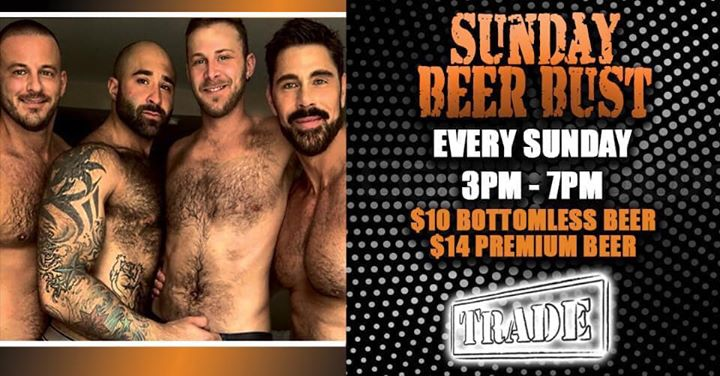Sunday Beer Bust : Den Pah à Denver le dim.  1 septembre 2019 de 15h00 à 19h00 (After-Work Gay, Bear)