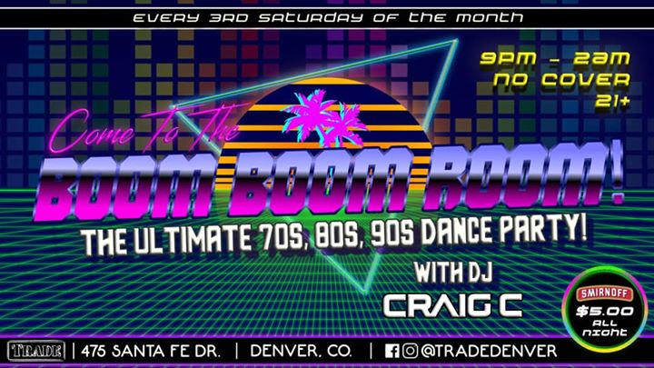 The Boom Boom Room in Denver le Sat, November 16, 2019 from 09:00 pm to 02:00 am (Clubbing Gay, Bear)