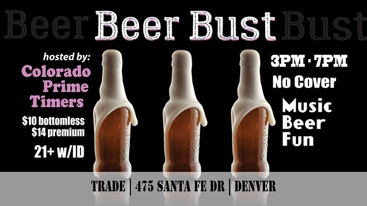 Beer Bust / Colorado Prime Timers in Denver le Sat, October 19, 2019 from 03:00 pm to 07:00 pm (After-Work Gay, Bear)