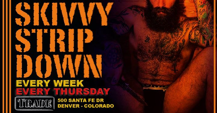Skivvy Strip Down in Denver le Do 25. Juli, 2019 21.00 bis 02.00 (Clubbing Gay, Bear)